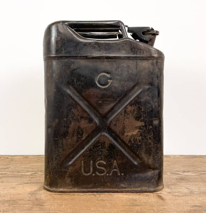 WW2 USA Jerrycan QMC 1944