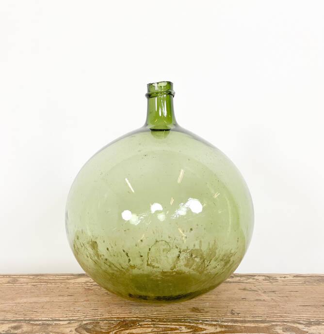 Antiek geblazen franse ballon fles C