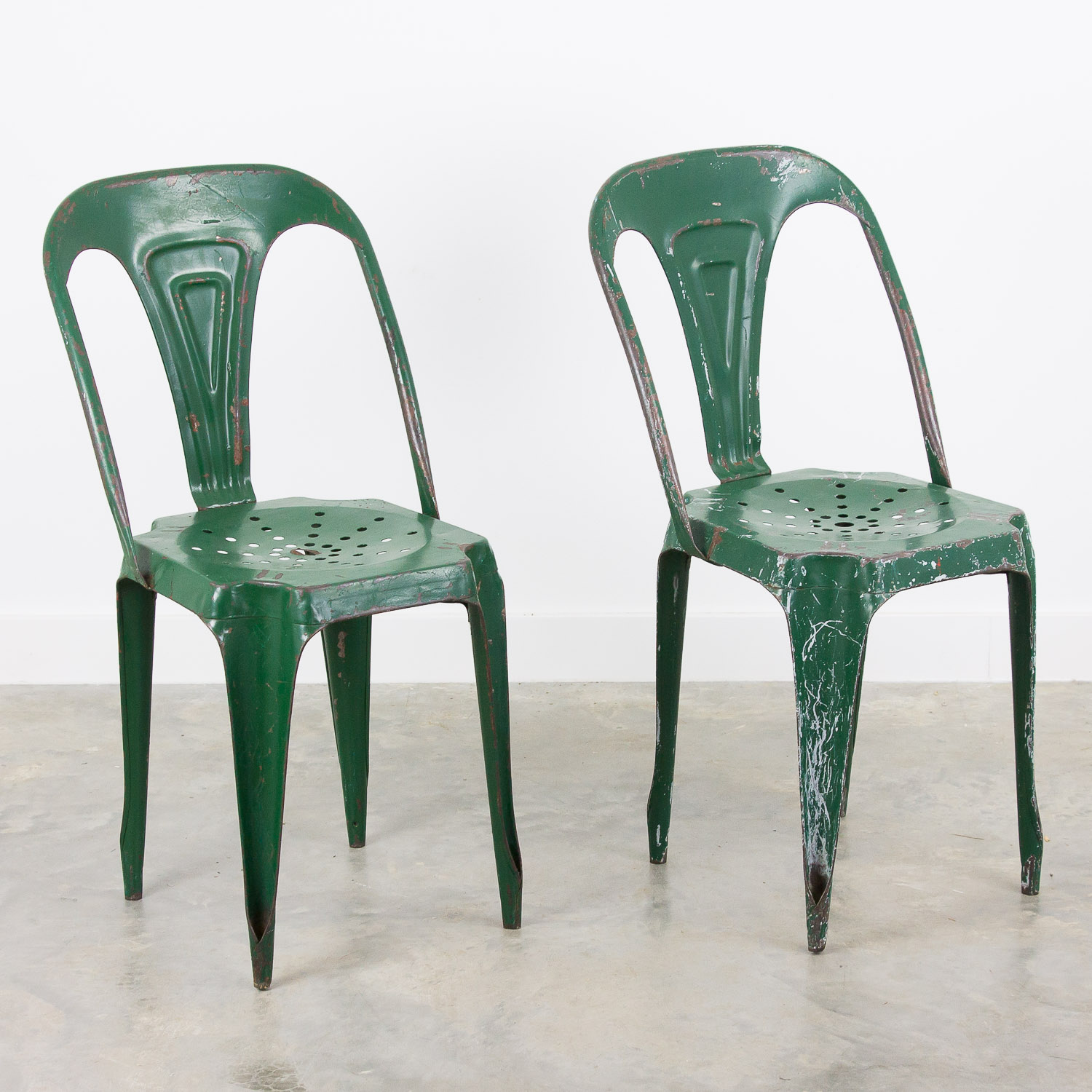 Set of 2 Multipl's chairs by Joseph Mathieu