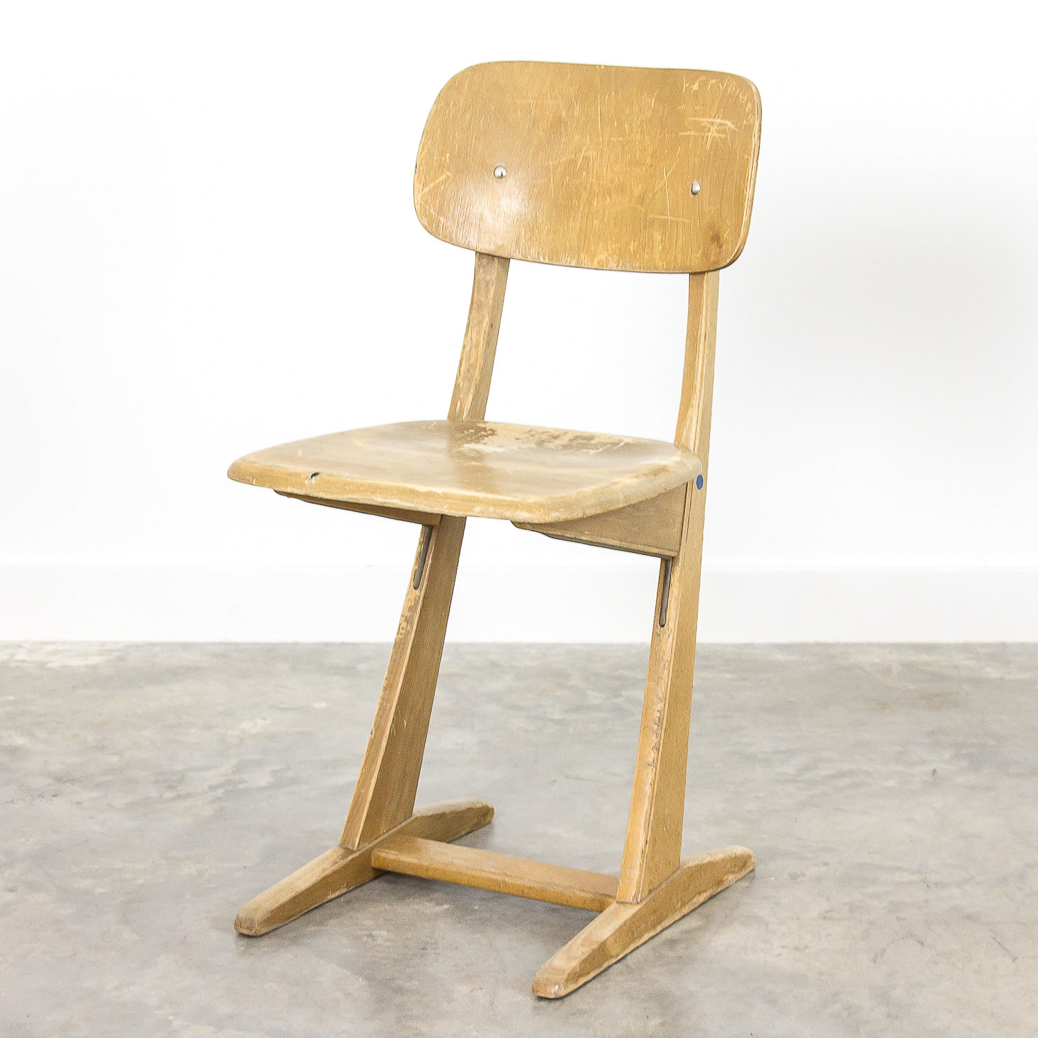 School chair by Carl Sasse for Casala