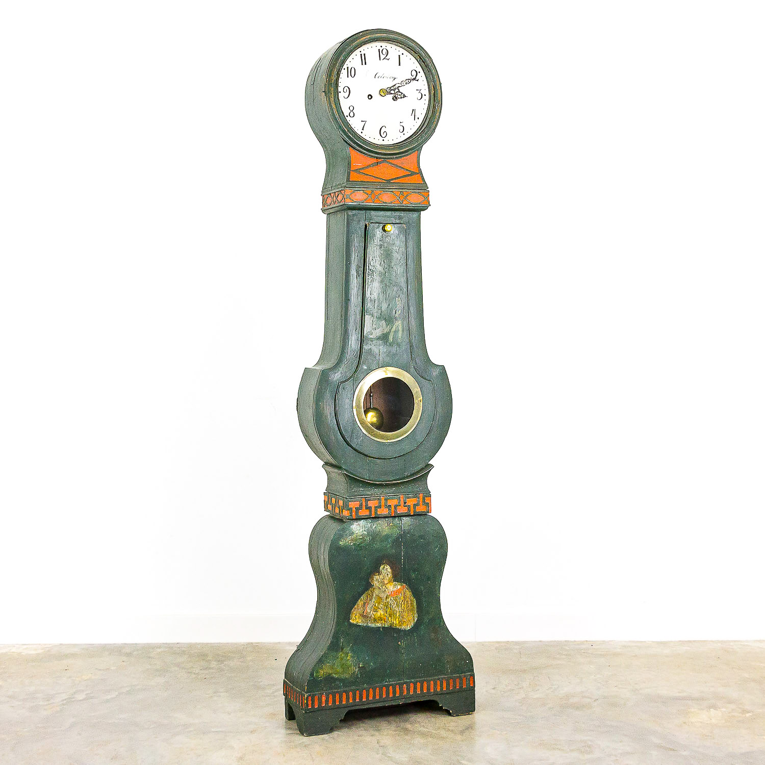 Swedish mora clock, 19th century