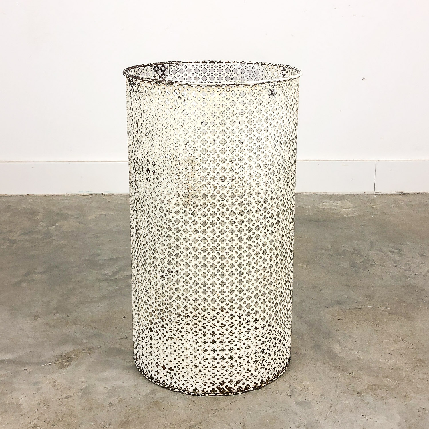 Vintage trash can by Mathieu Matégot, 1950's
