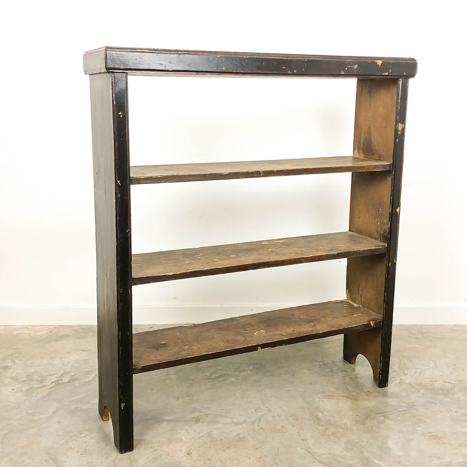 French antique brocant shelf