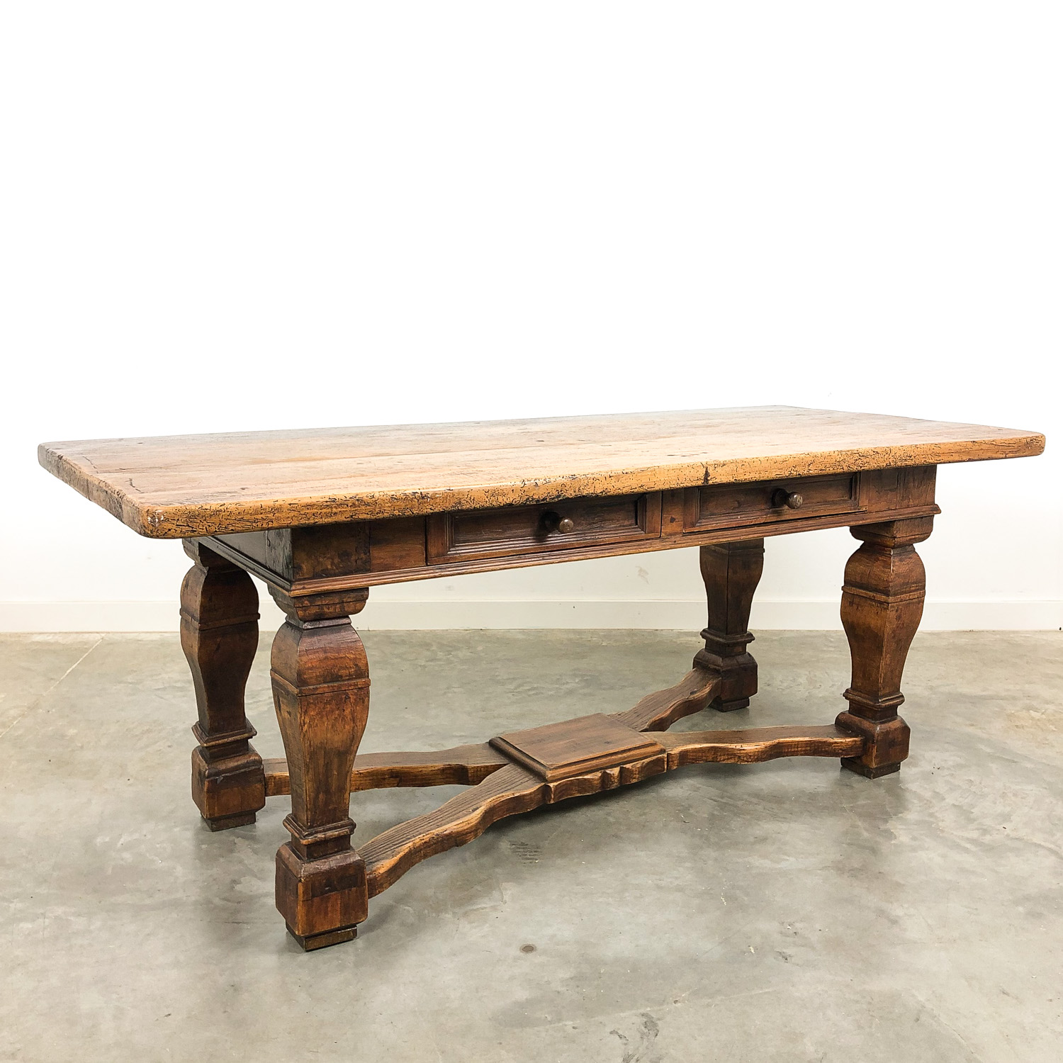 Swedish antique late 19th century Baroque style table