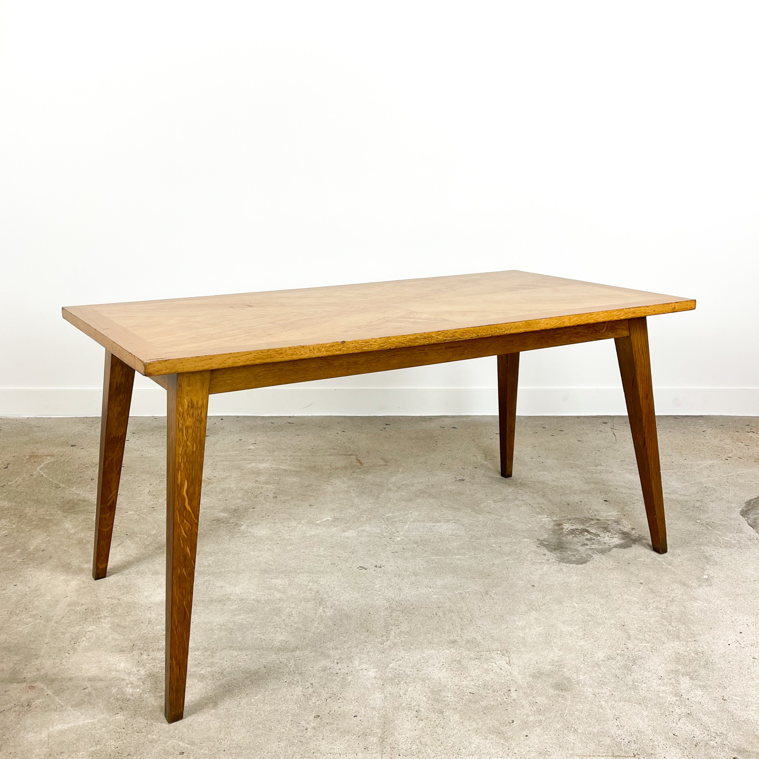 Vintage retro dining table