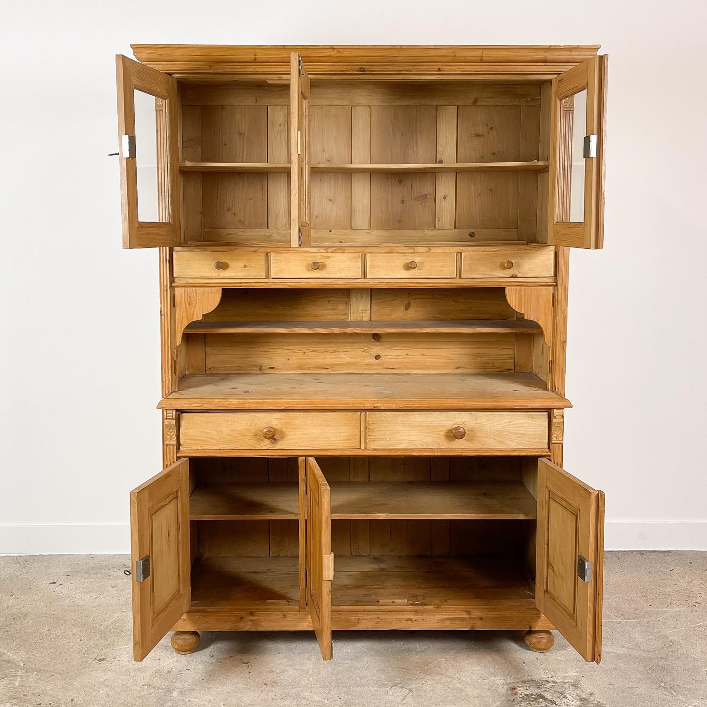 Pine wooden kitchen display cabinet | Old Goods