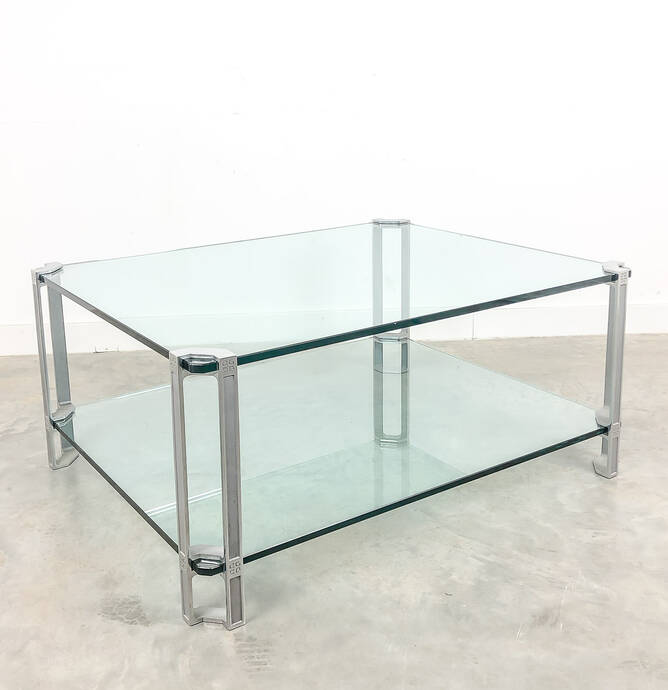 Mid century design coffee table by Peter Ghyczy, 1970s