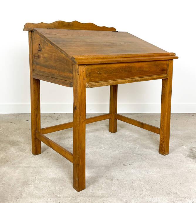 Antique oak lectern