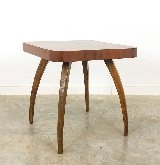 Vintage table by Jindrich Halabala 1950s