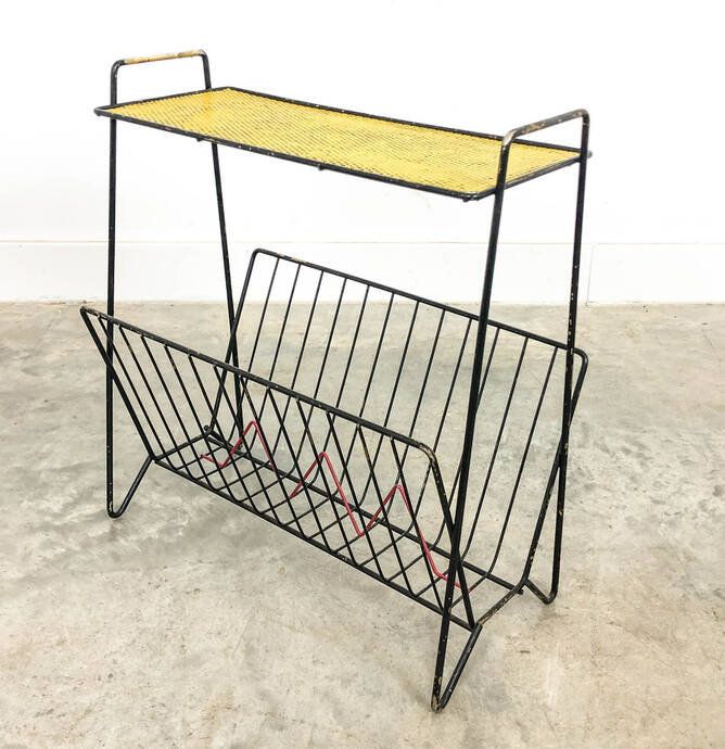 Magazine rack by Mathieu Mate?go