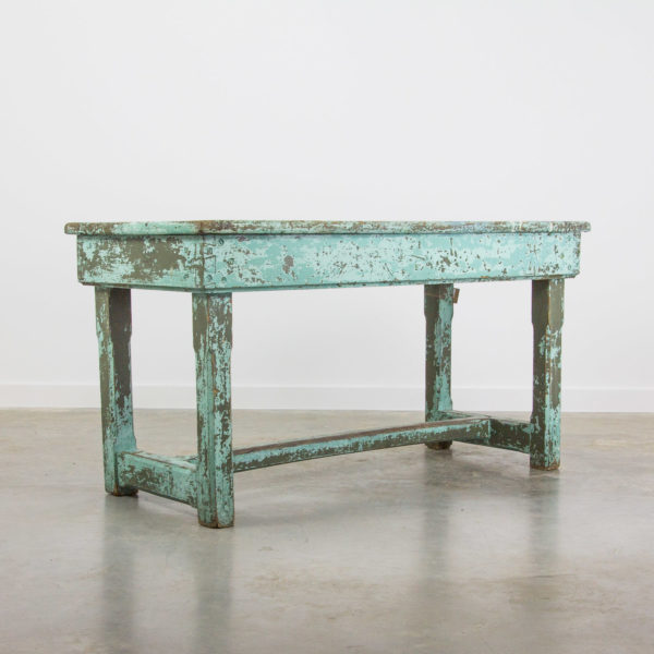 2753 Blue workbench table